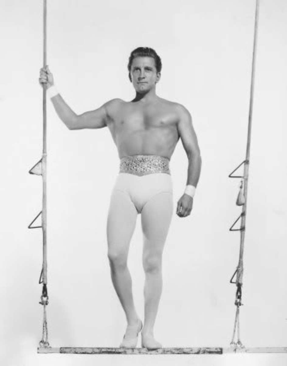 Kirk Douglas in his youth