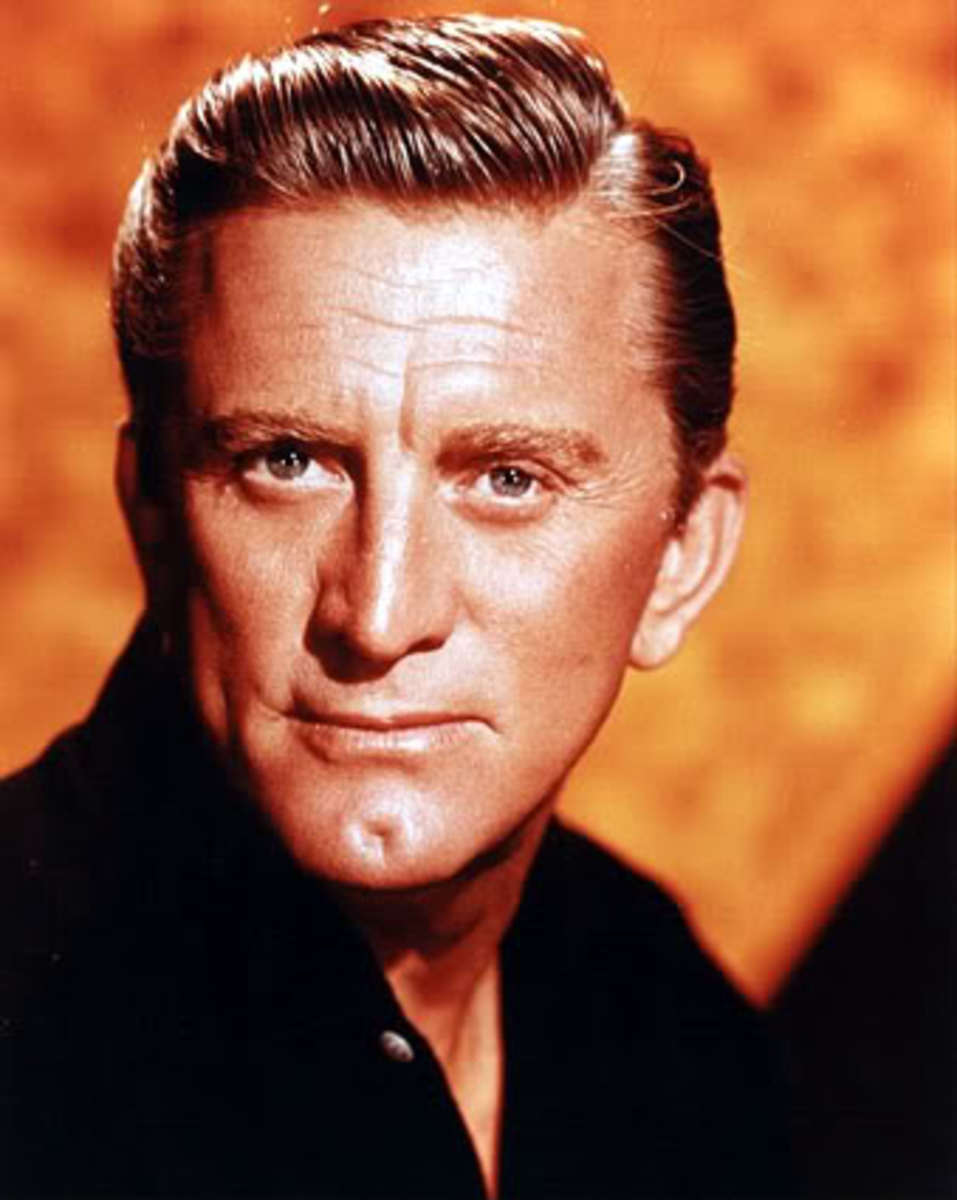 Kirk Douglas His Contributions and Accomplishments and a Complete List of His Books