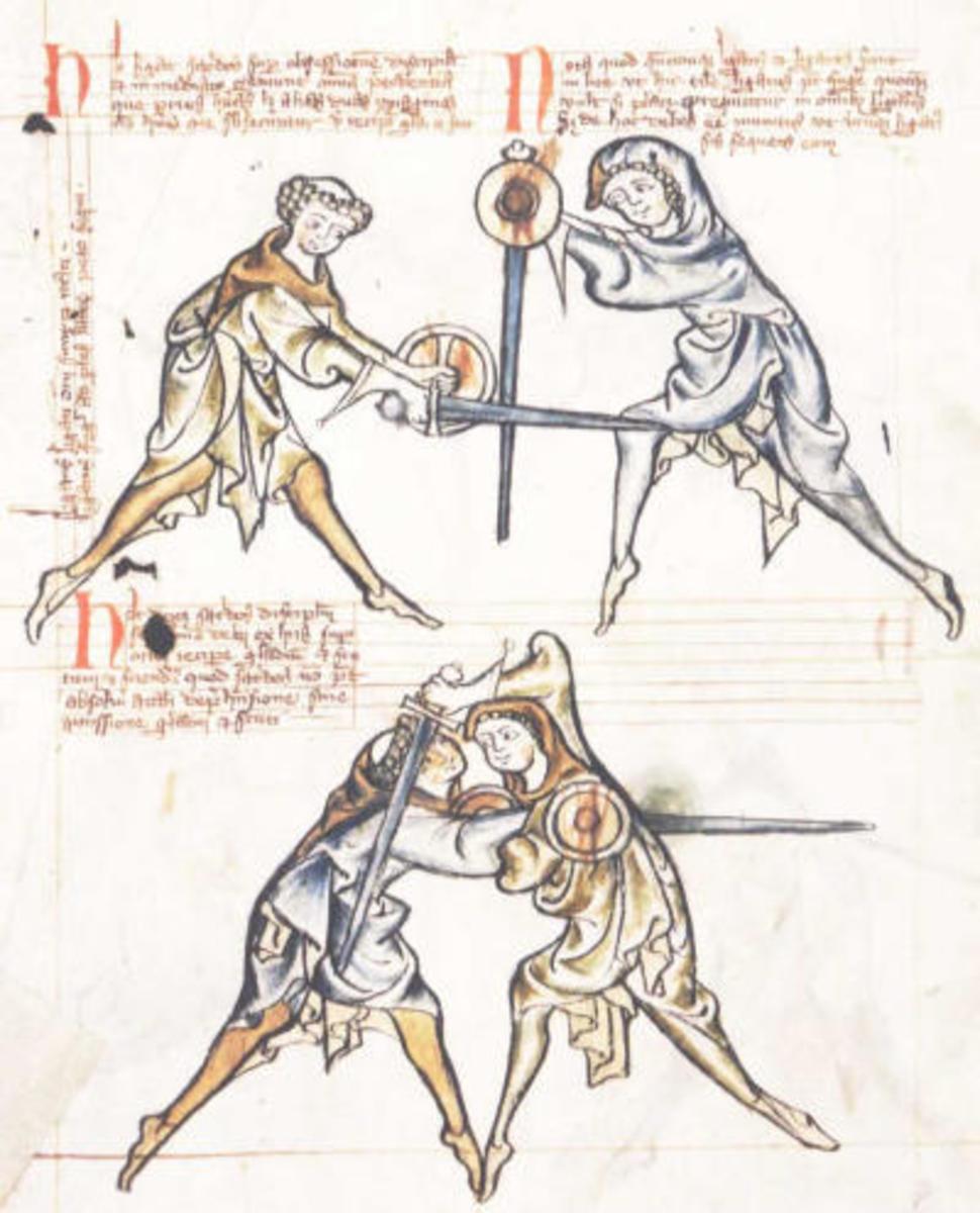 Basic Swordsmanship for Fantasy Writers