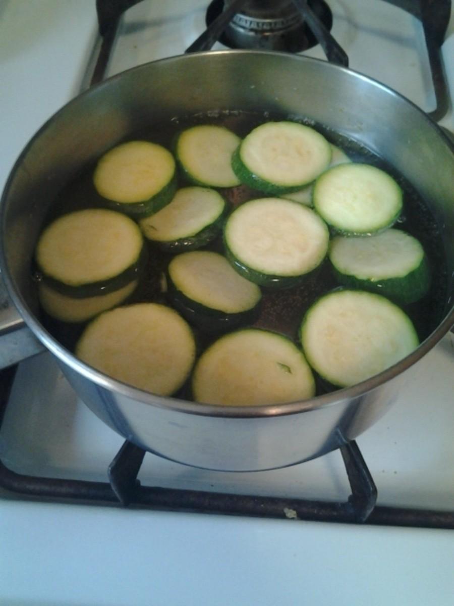 Zucchini in Water
