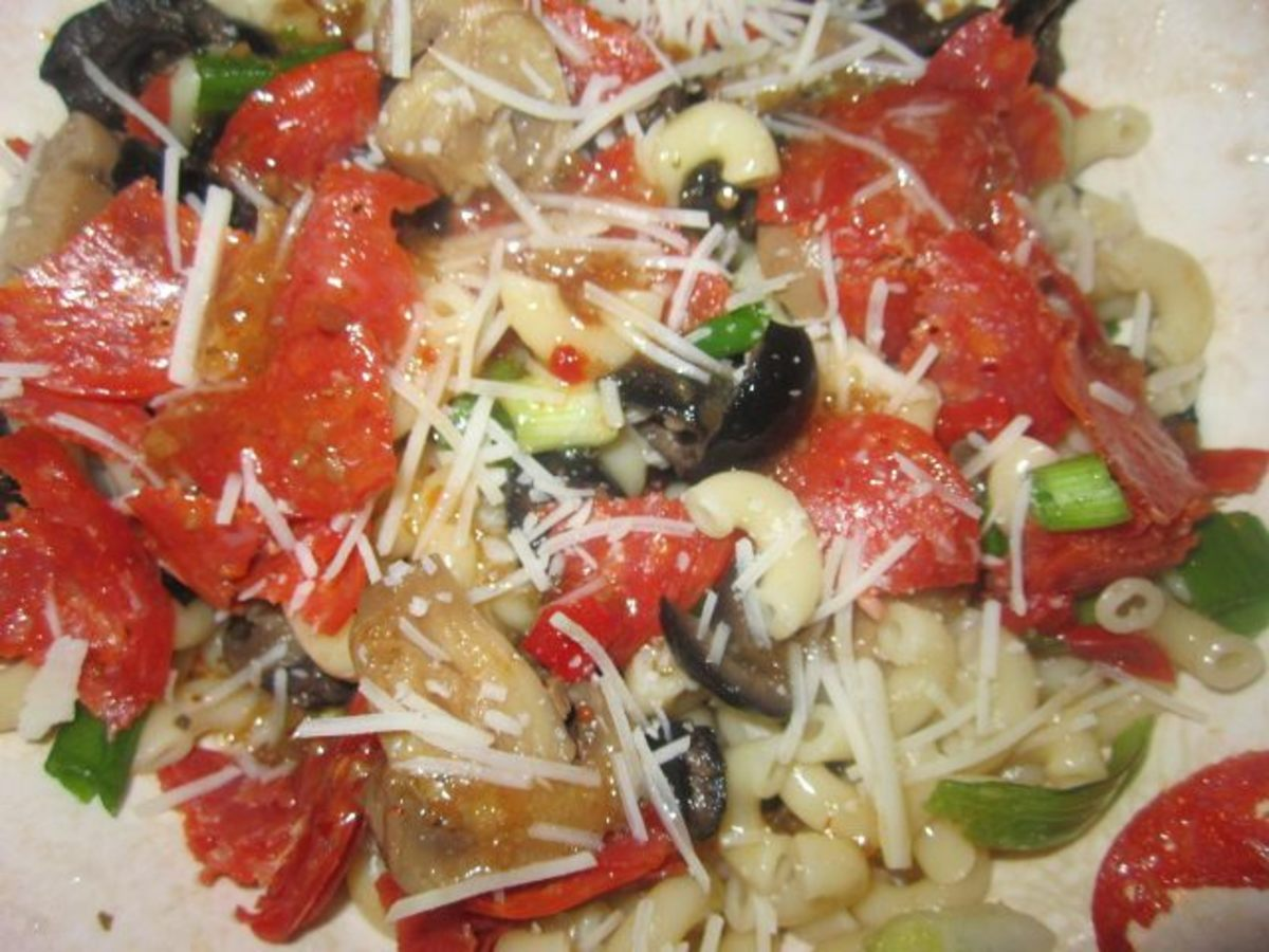 Italian Pasta Salad--this was soooooo good!