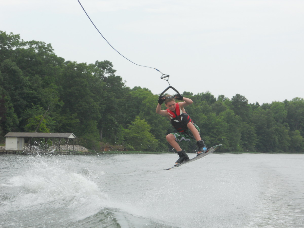 how to land a wakeboard jump