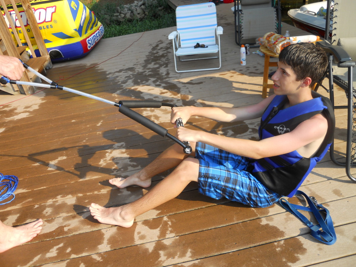 How to Teach a Child to Wakeboard