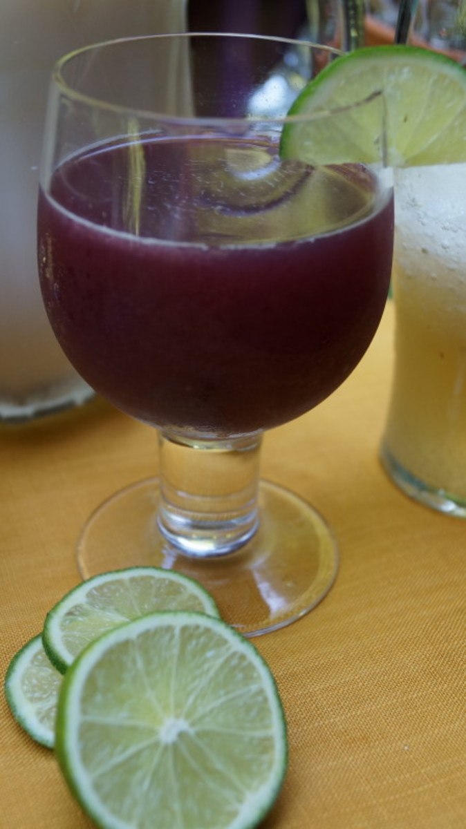 Delicious sangria - just in time for summer.