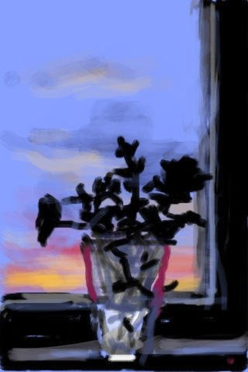 Hockney iPhone Art