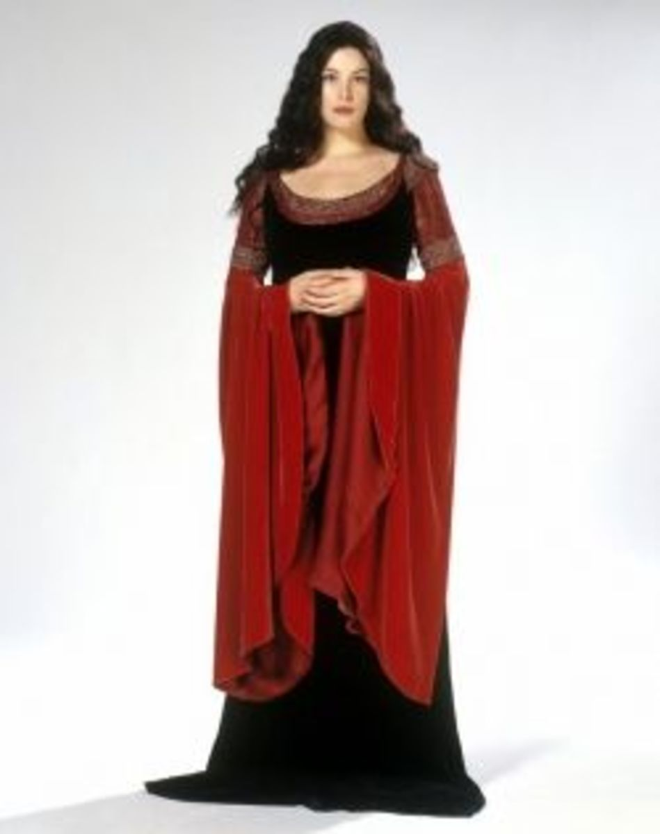 Liv Tyler as Arwen from Lord of the Rings