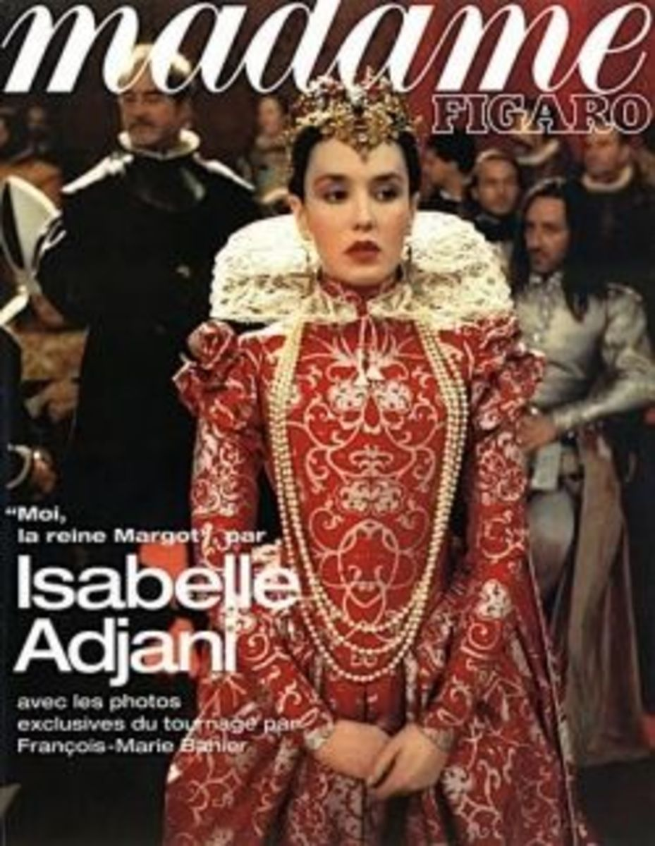 Isabelle Adjani as Margot from La Reine Margot