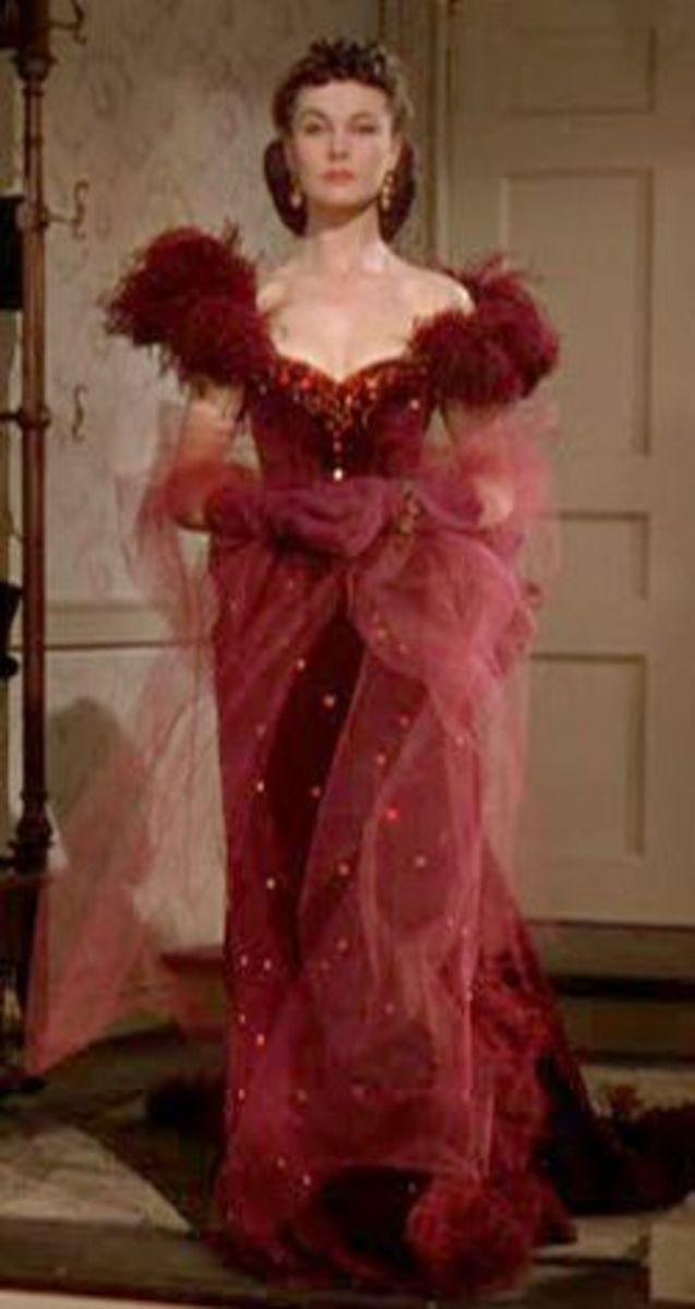 Vivien Leigh as Scarlett O'Hara from Gone with the Wind