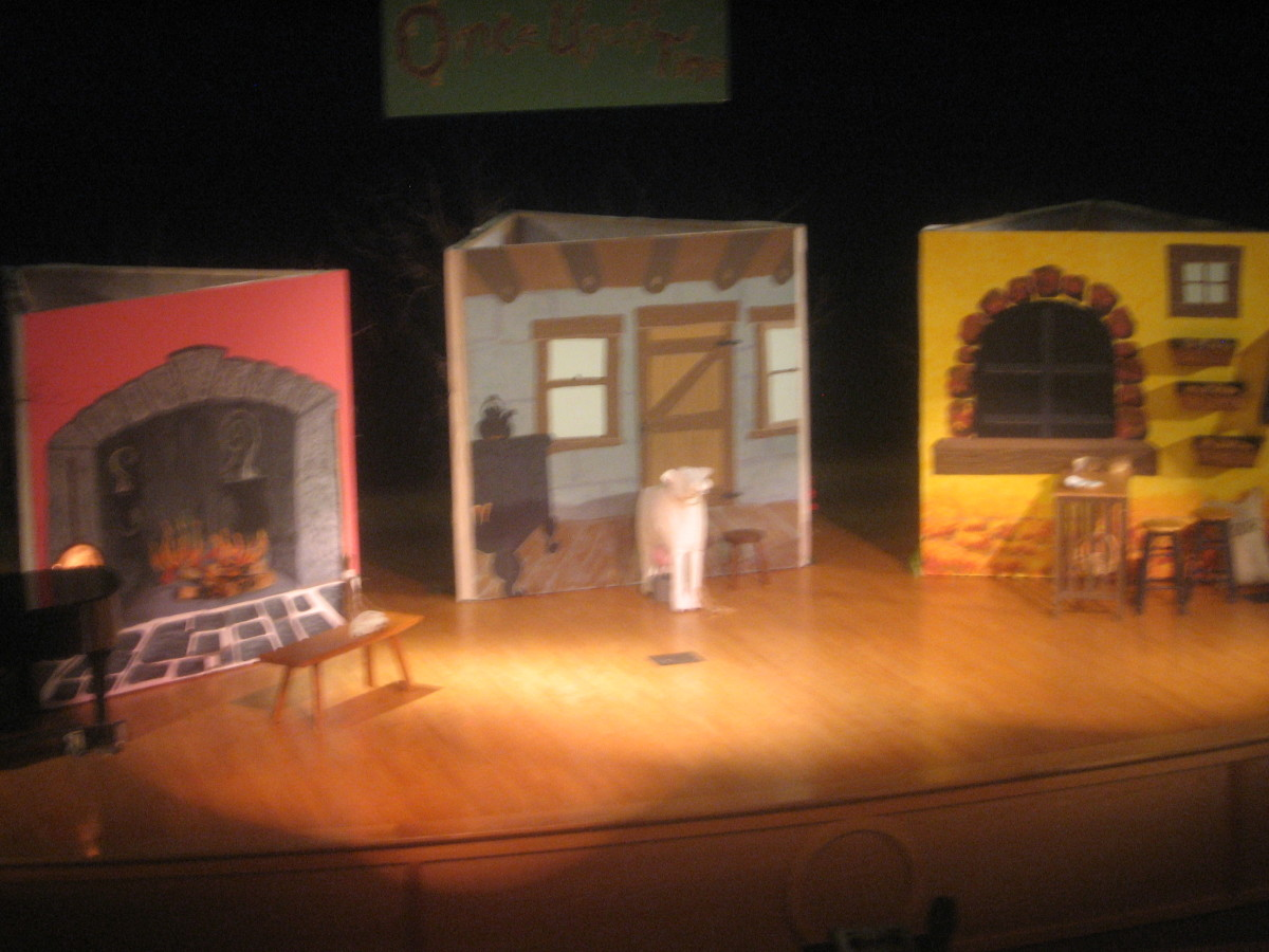 "Opening Set for ""Into the Woods"""