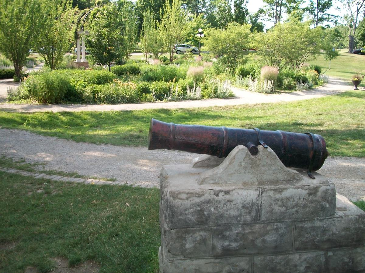 The 'Baby Cannon', Waterloo Park, Waterloo, Ontario
