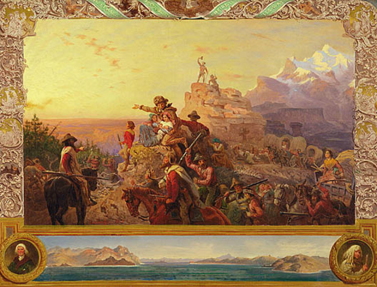 Westward the Course of Empire, Emanuel Gottlieb Leutze