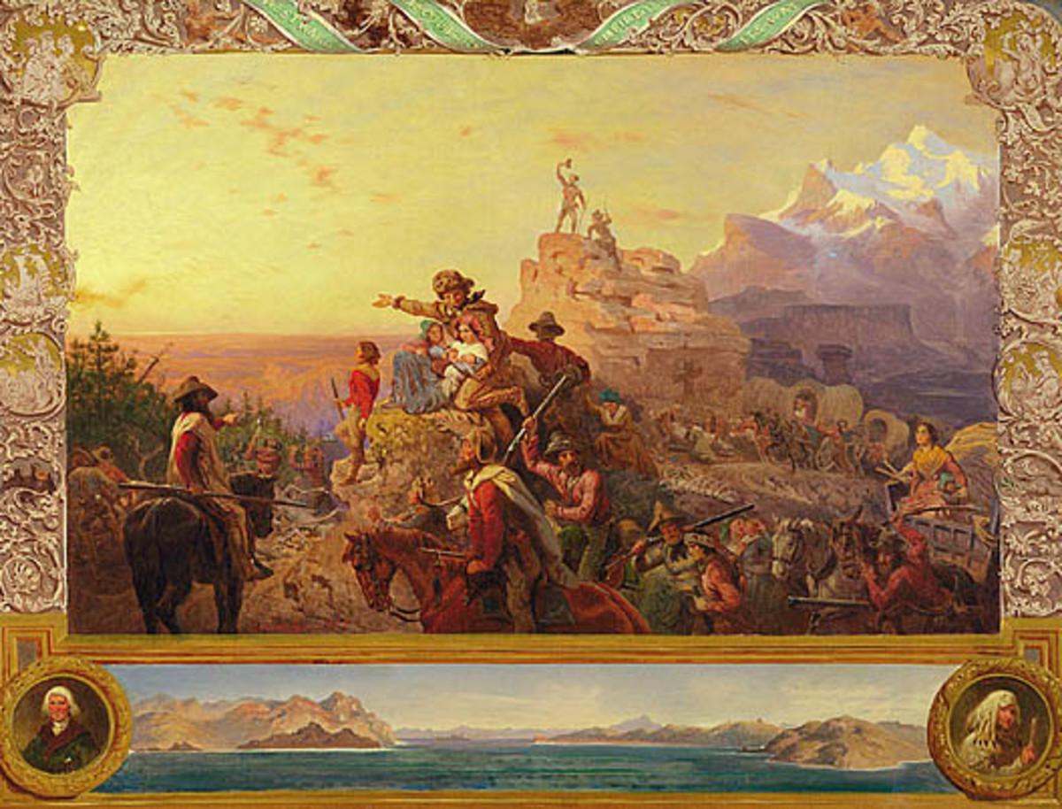 Westward the Course of Empire, Emanuel Gottlieb Leutze