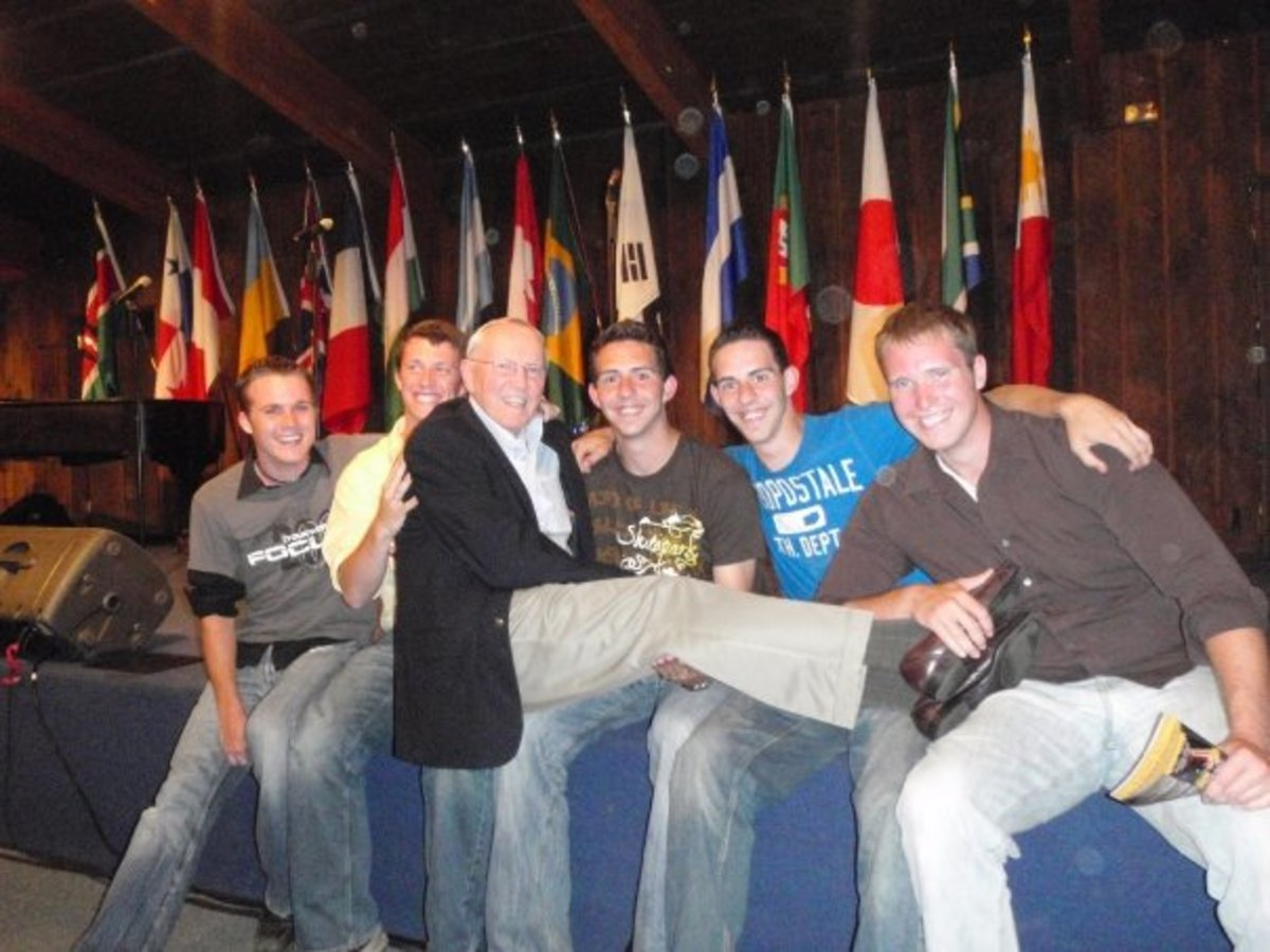 Some of the guys I used to sing with!