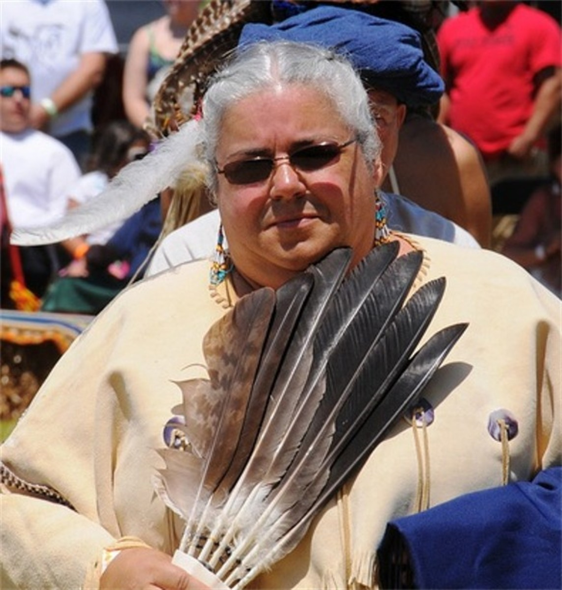 Sharon Bryant, the first woman Chief, elected in 2011