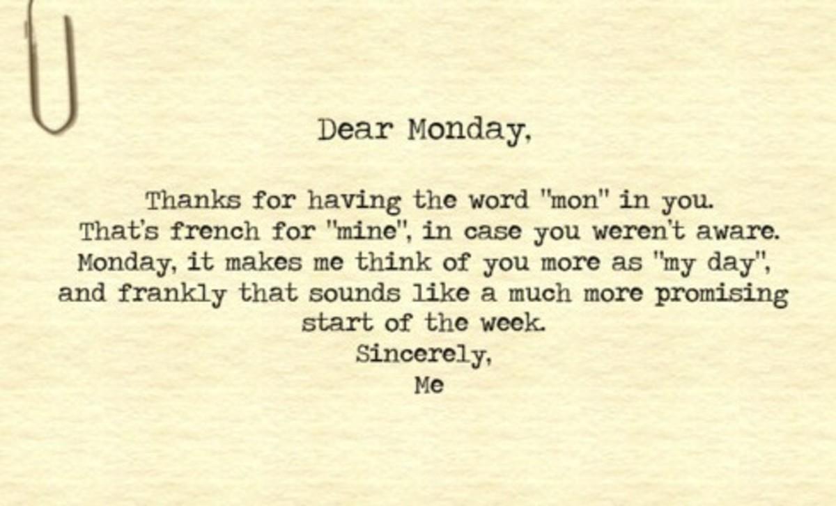 Mondayitis Quote