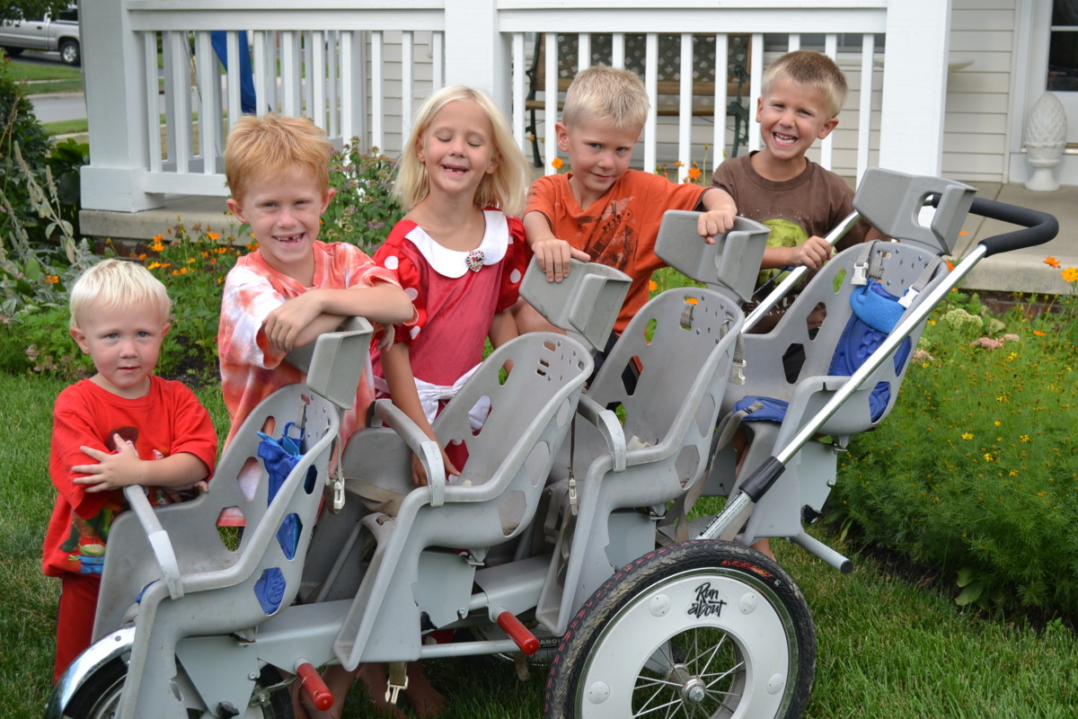 Our children and our Quad Runabout stroller