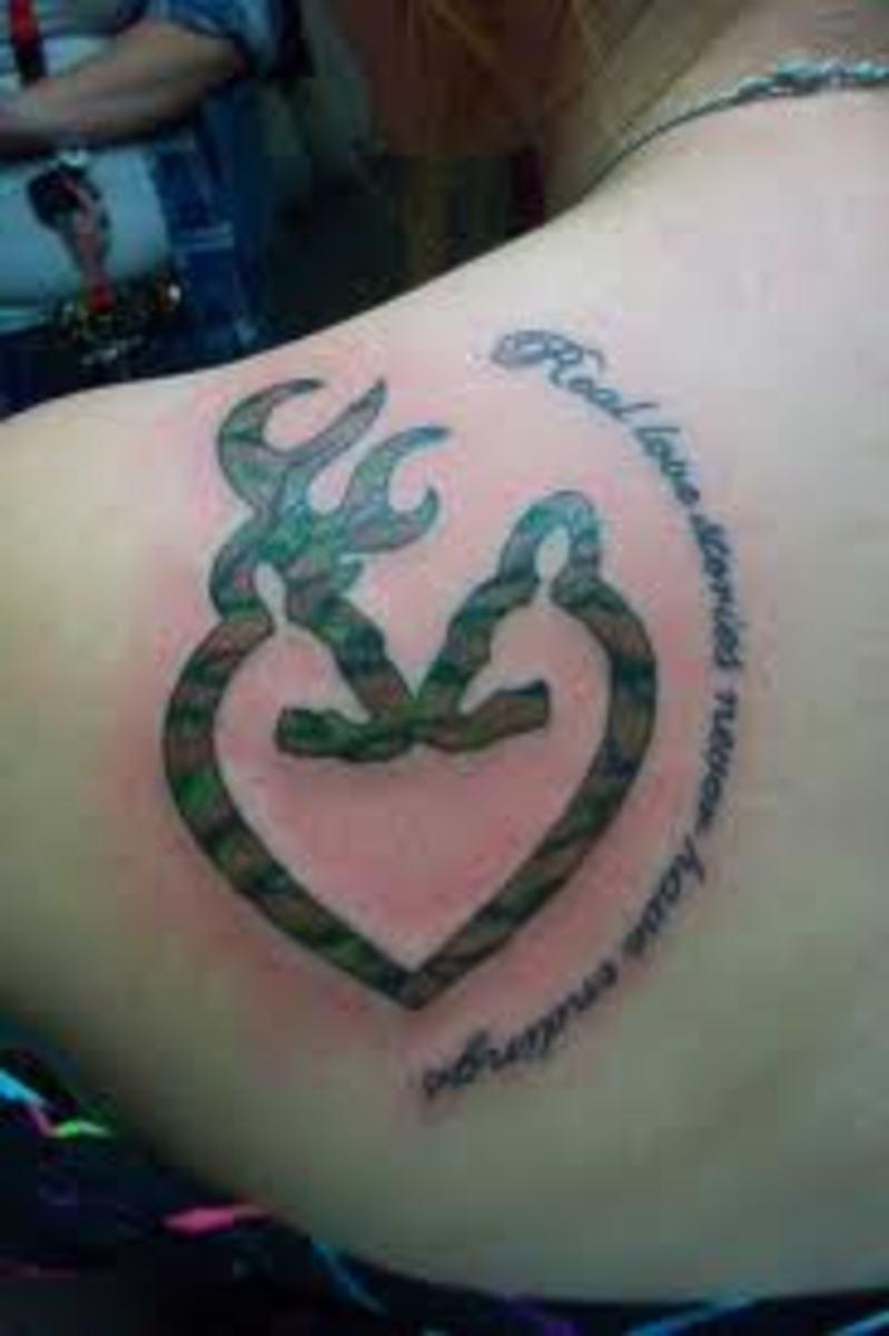 Buck Deer Tattoo Designs