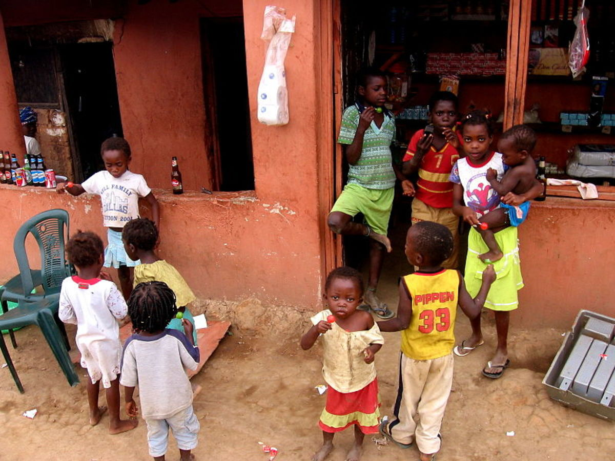 Country Facts About Angola for Kids