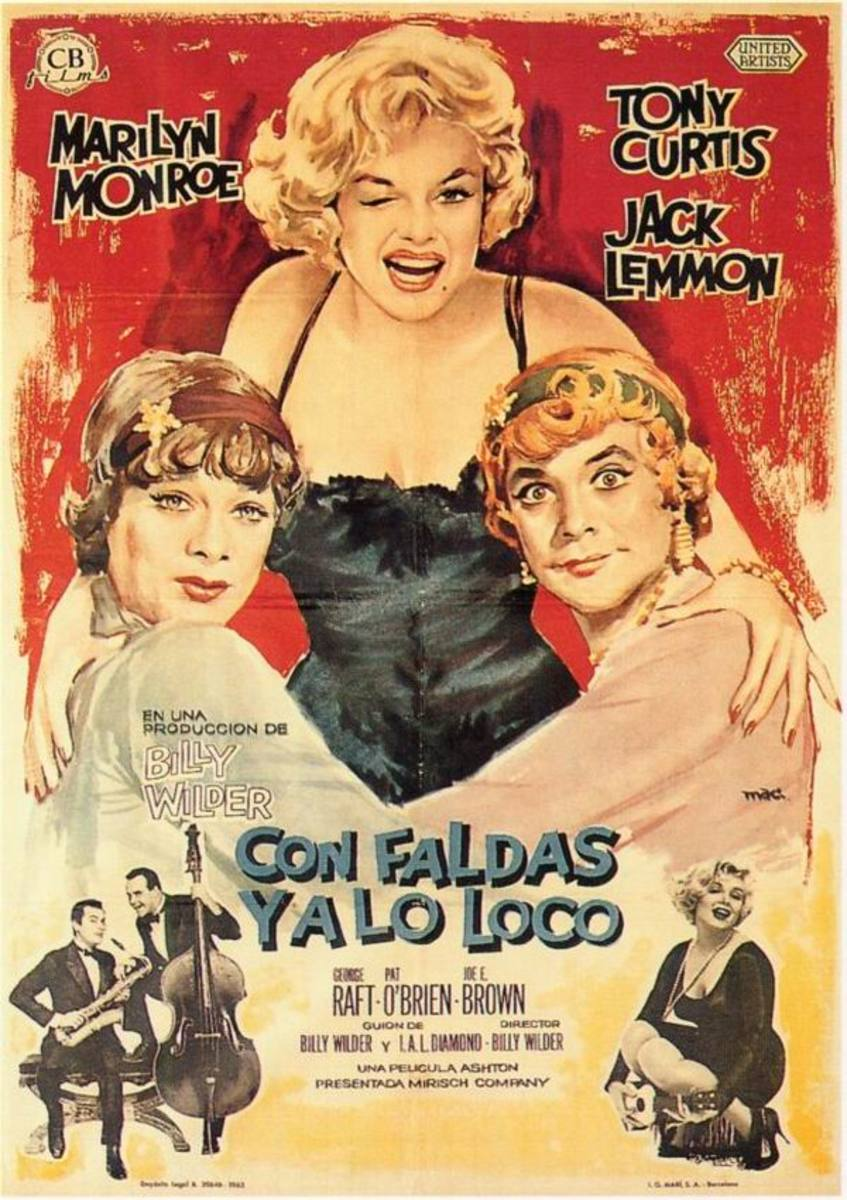 Some Like it Hot (1959) Spanish poster