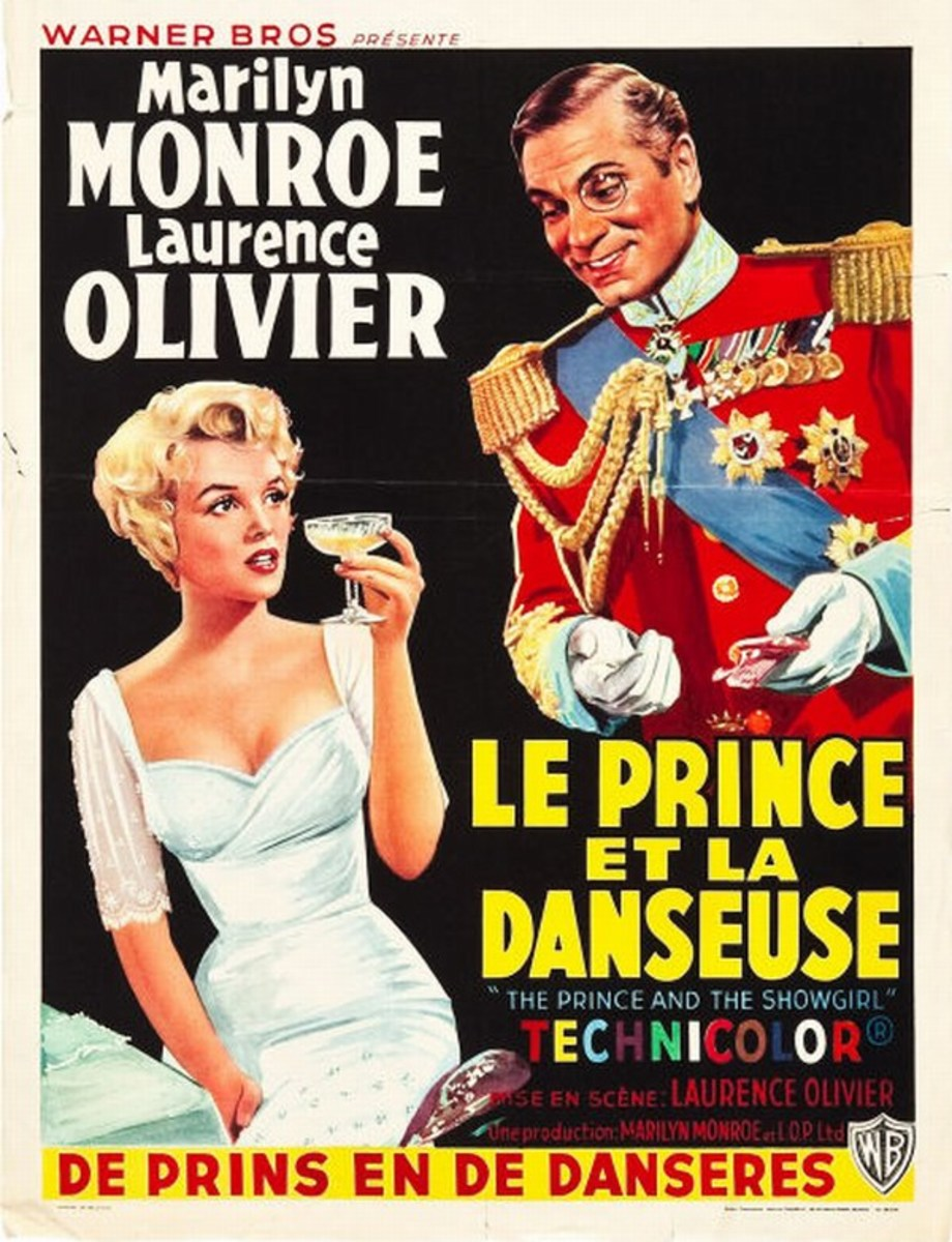 The Prince and the Showgirl (1957) Belgian poster