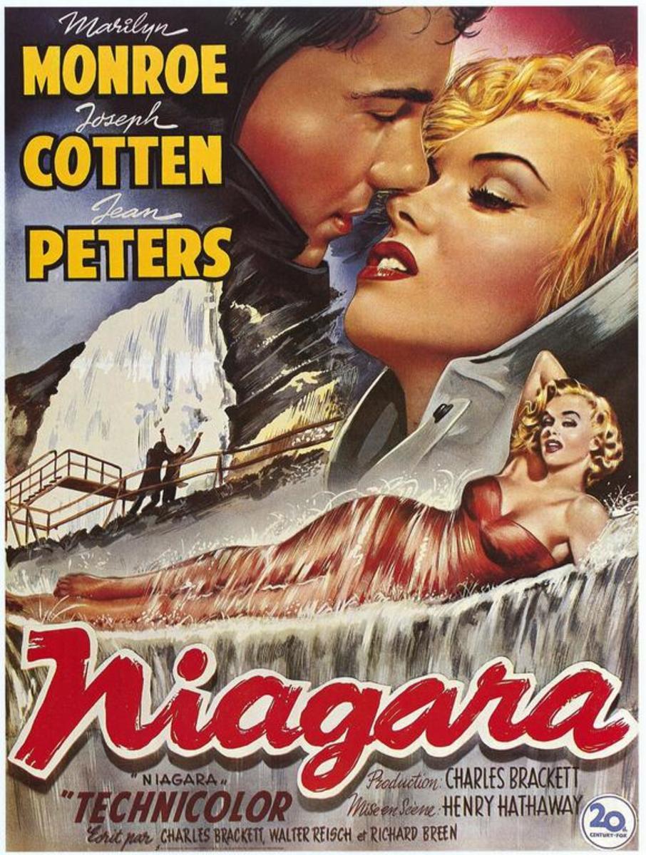Niagara (1953) Belgian poster