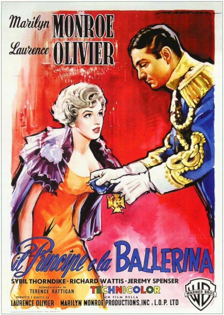 The Prince and the Showgirl (1957) Italian poster