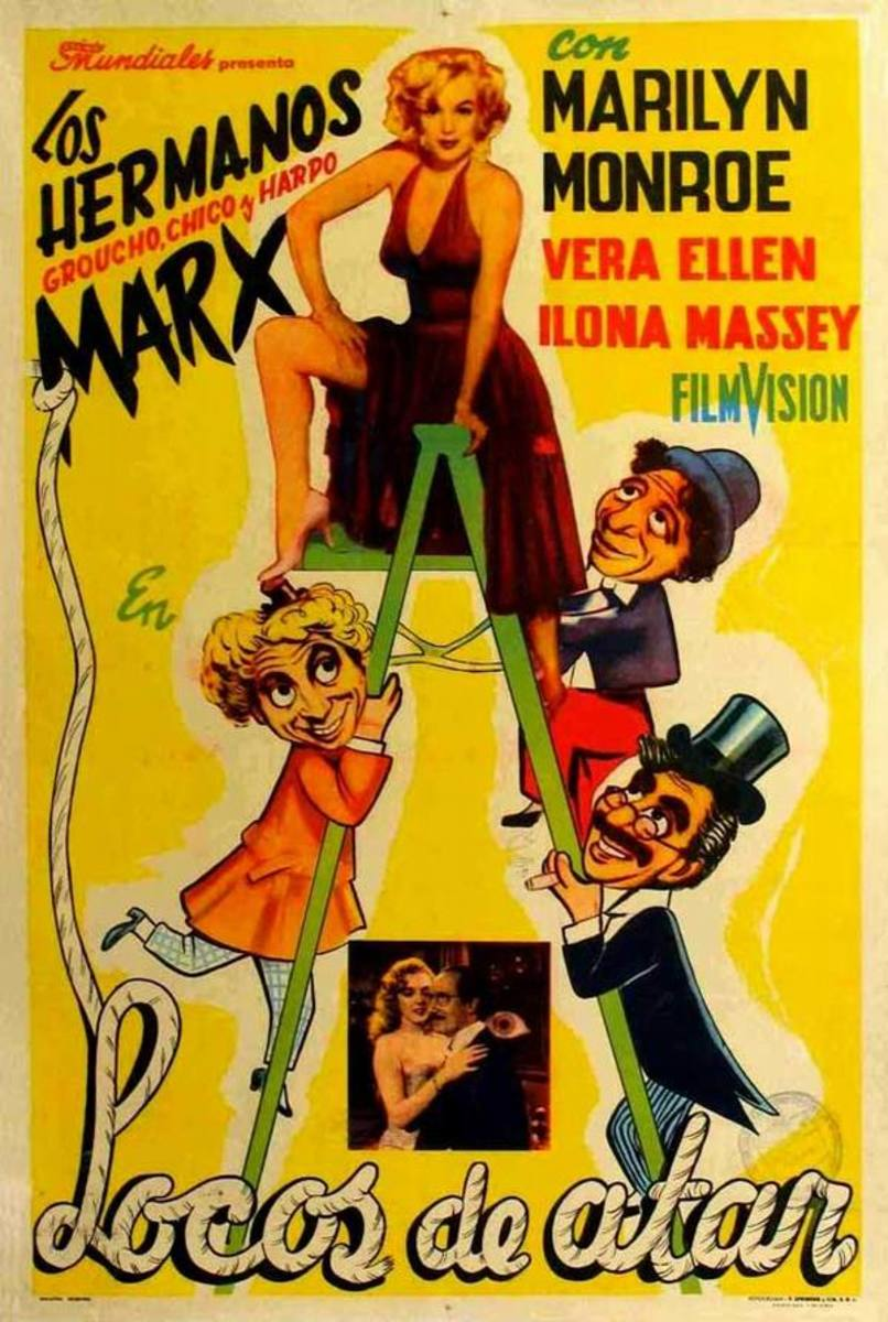 Love Happy (1949) Argentinian poster