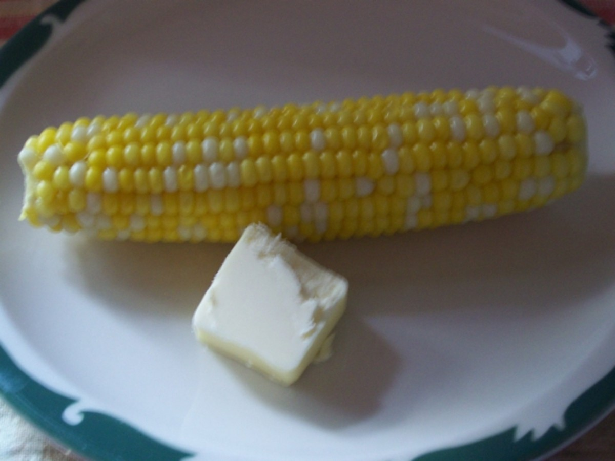 Corn and Butter.