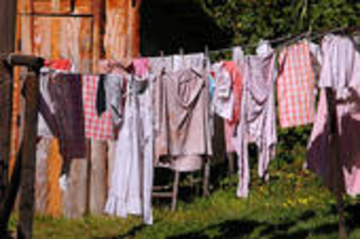 Looks like them folks next door got a new clothes dryer...