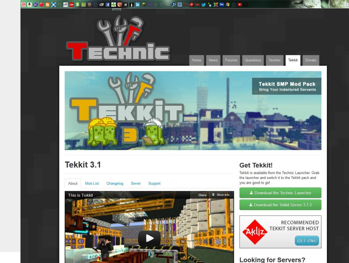 Downloadable modifications like Tekkit add extra enjoyment to the game.