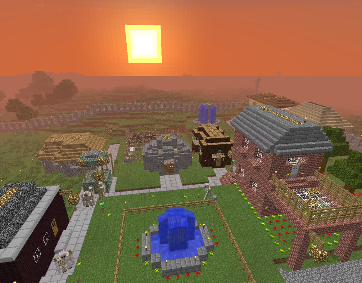 Building villages in Minecraft is a sure way to spend some time and have some fun!