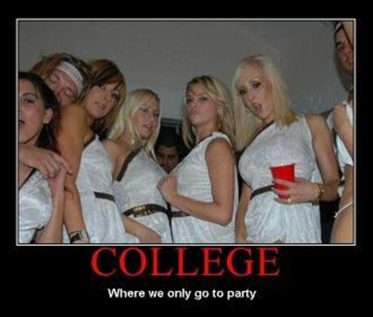 The Risks of Partying Hard in College