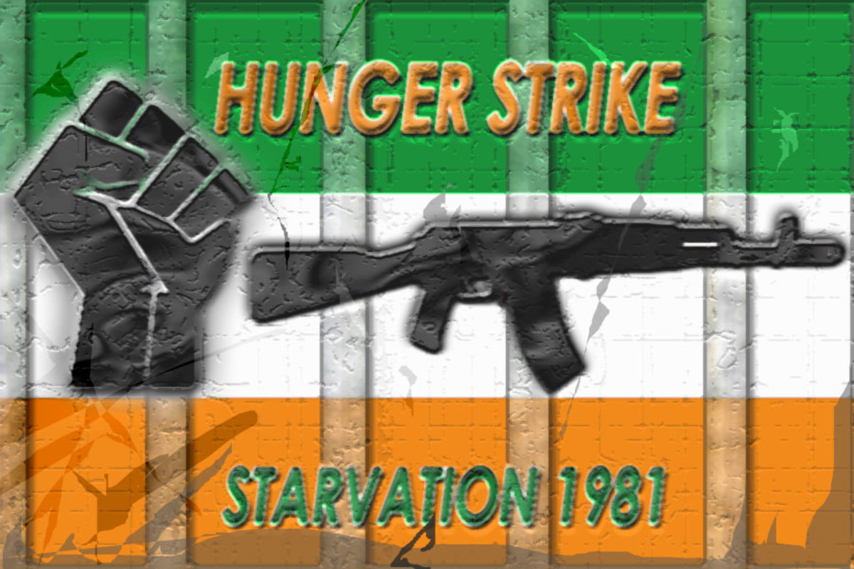 IRA flag, IRA hunger strike of 1981