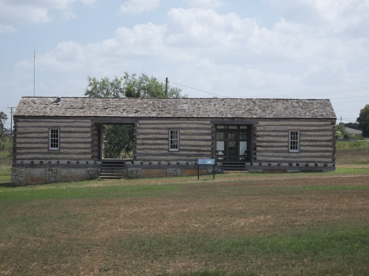 The Enlisted Men's Barracks.