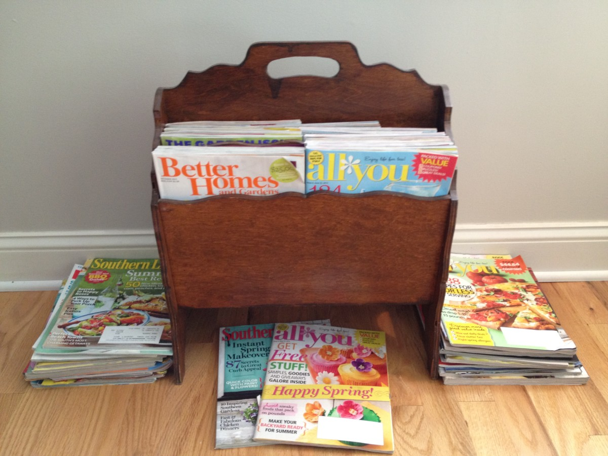 What to Do With Old Magazines