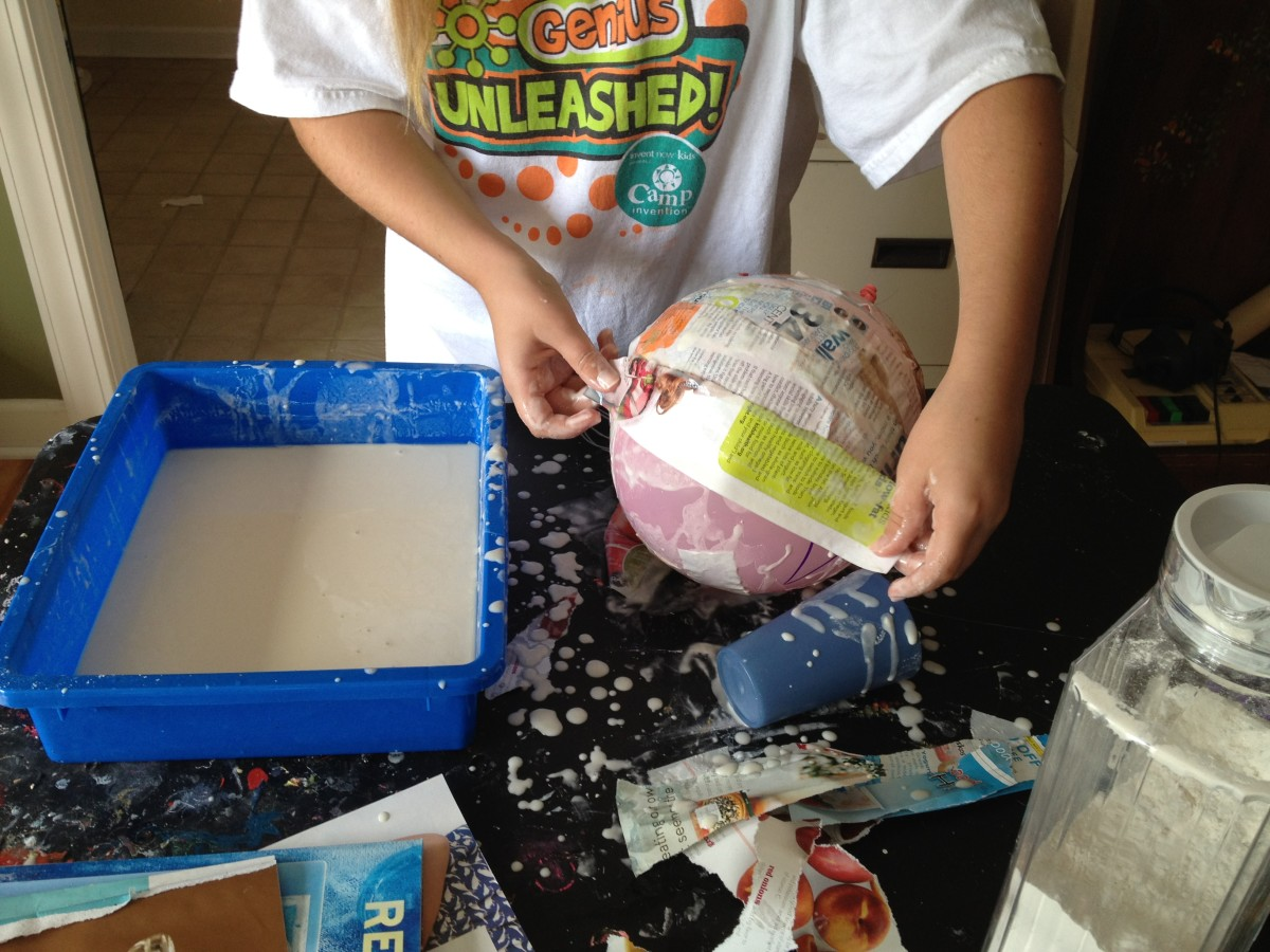 how to make solar system with clay