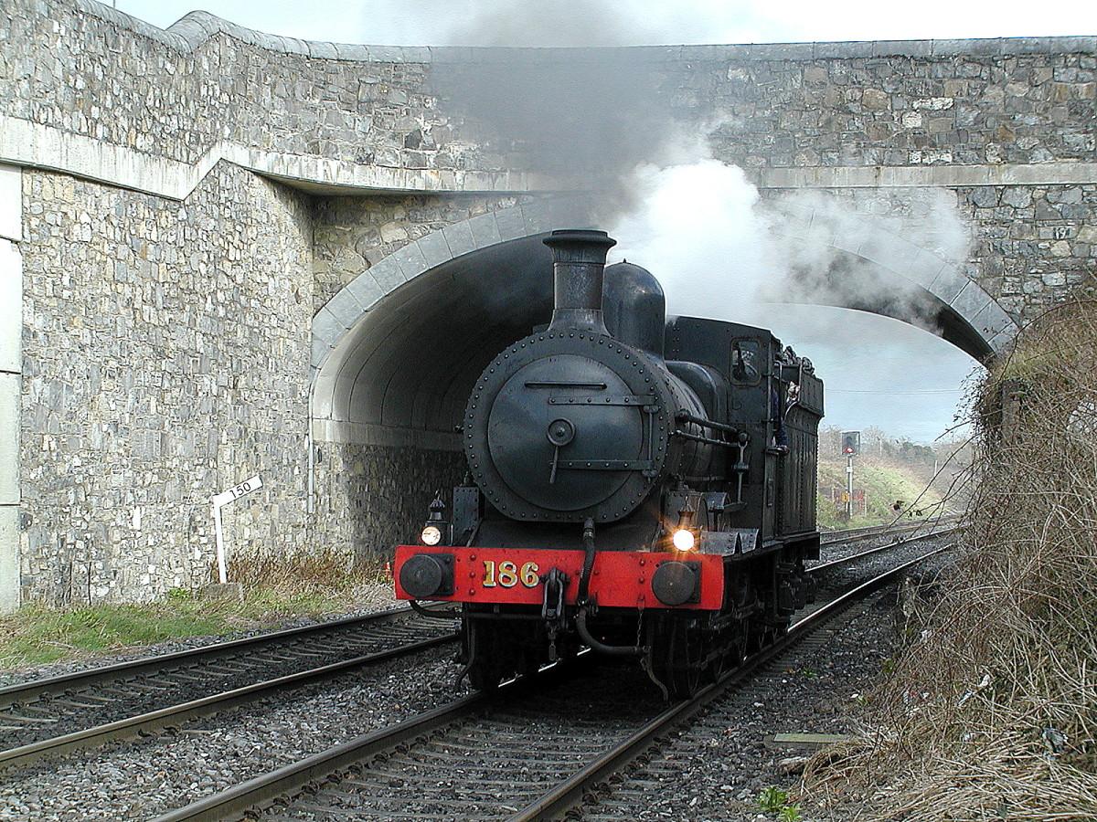 No. 186 the oldest mainline locomotive in Ireland (1879)