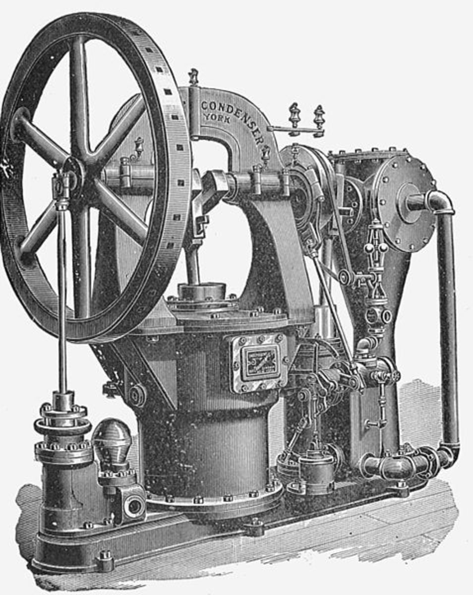 the first inventors of steam engines in the industrial revolution The invention of the steam engine in 1765 triggered the start of the industrial  revolution it wasn't long until the first steam train was built in england.