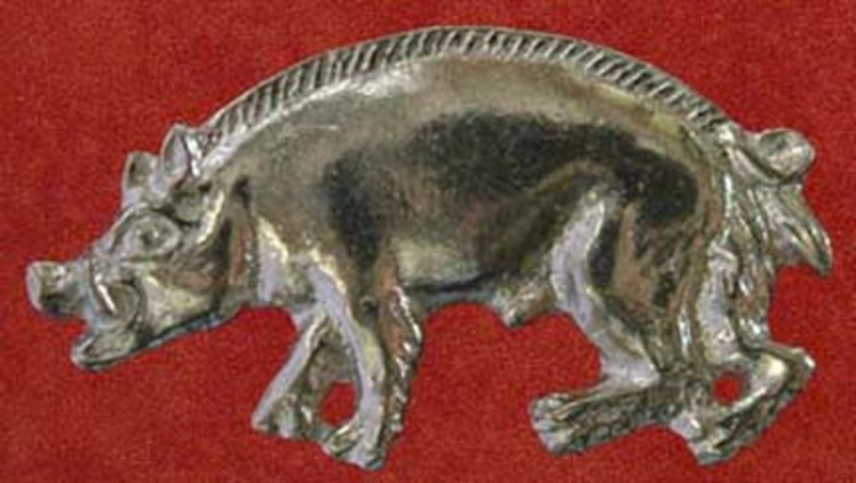 Richard III boar emblem replica