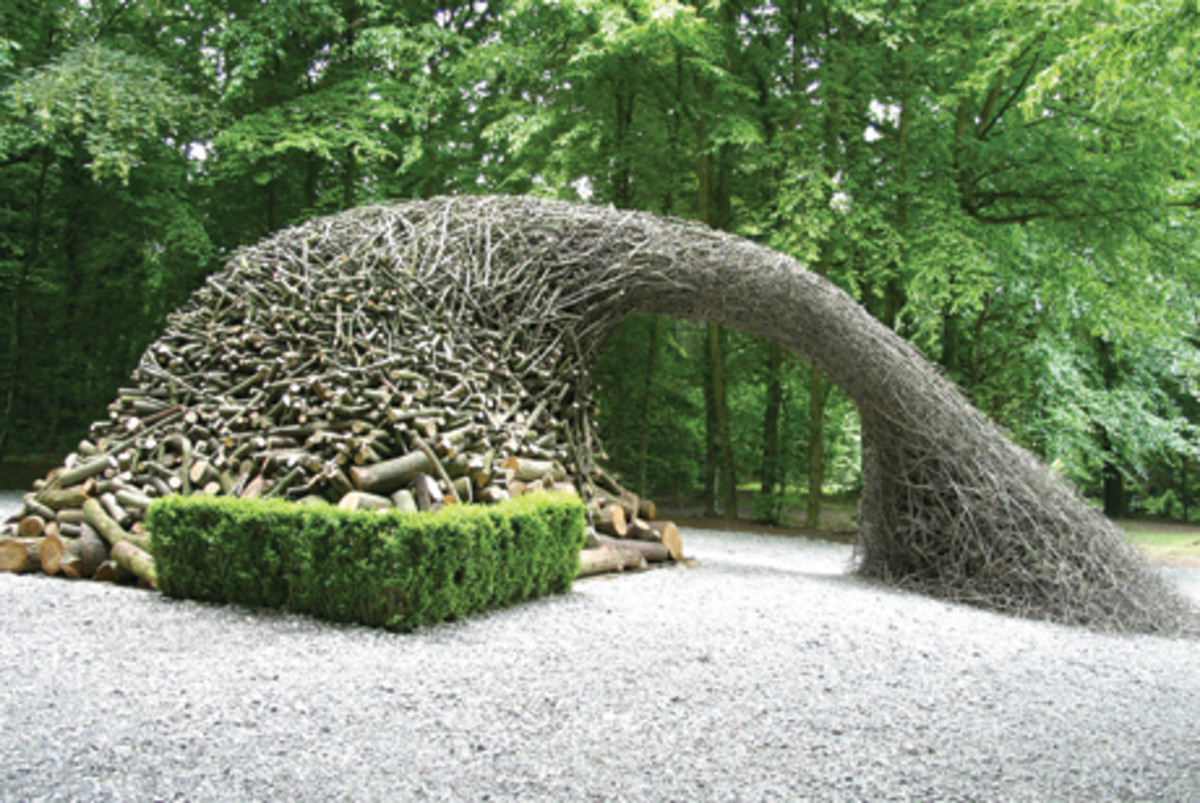 One of Andy Goldsworthy's masterpieces (Photo Credit: Hamilton Magazine online)