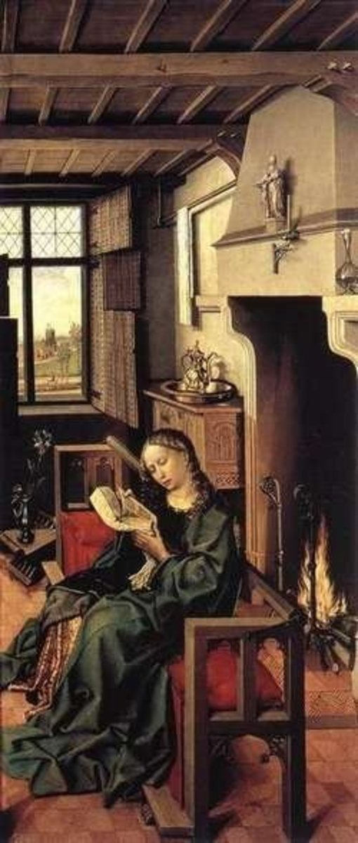Saint Barbara by Robert Campin
