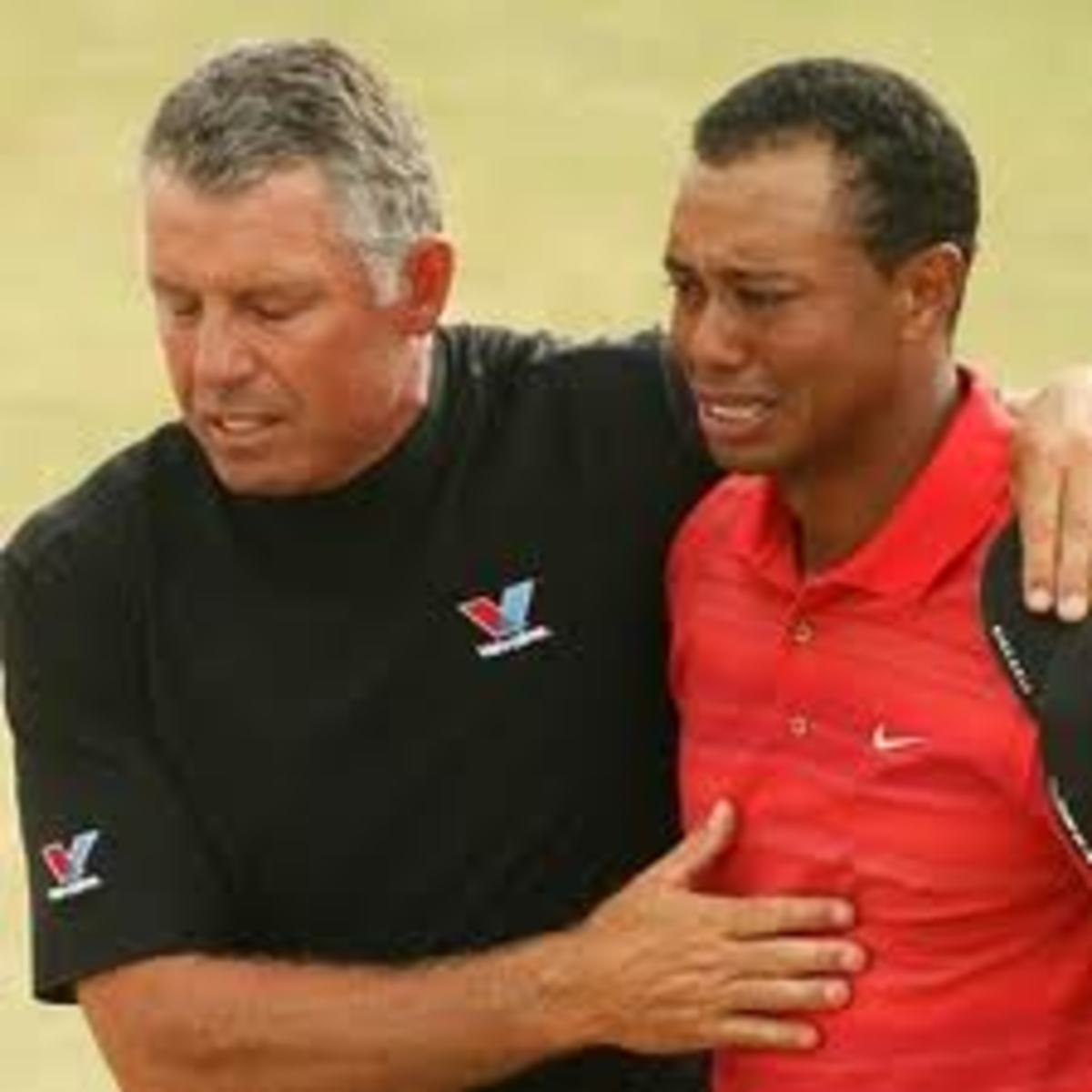 I know it hurts Tiger, if it gets worse and you can't win majors anymore, just let me know right away, buddy. It sucks about your joints and all. BTW, do you know any young skinny GOLF talent around here?
