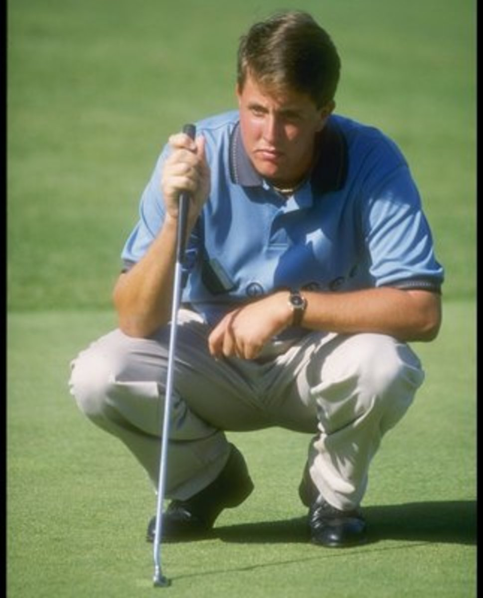 Phil Mickelson back in the day. No asterisk here.