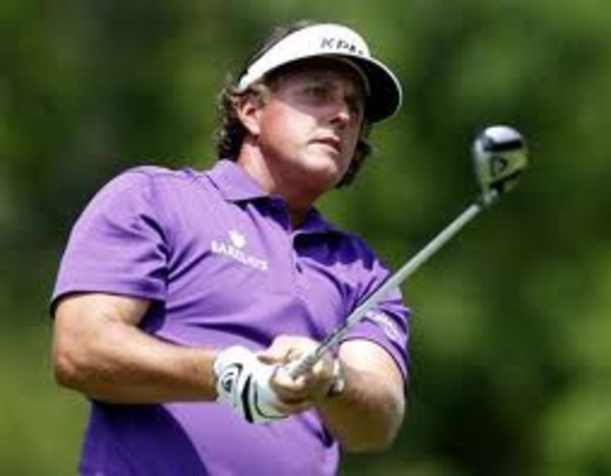 Phil Mickelson hulk version deserves a little * next to those arms.