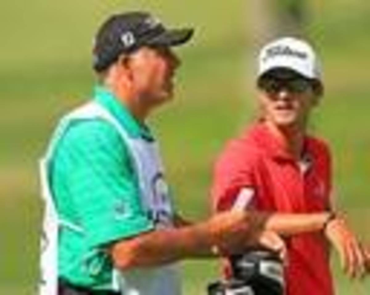 Adam, let me tell you a few things about how to win golf tournaments...
