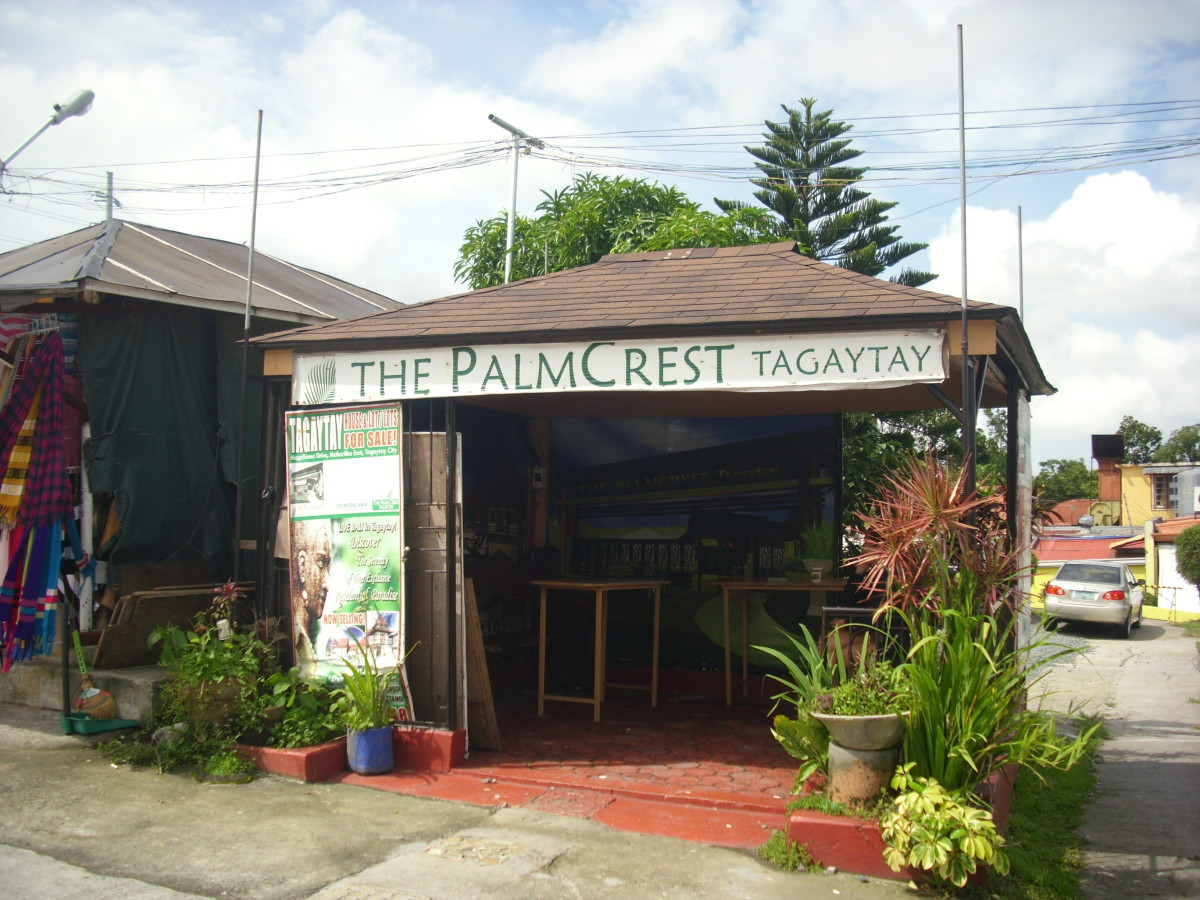 Souveniers shop in Tagaytay.