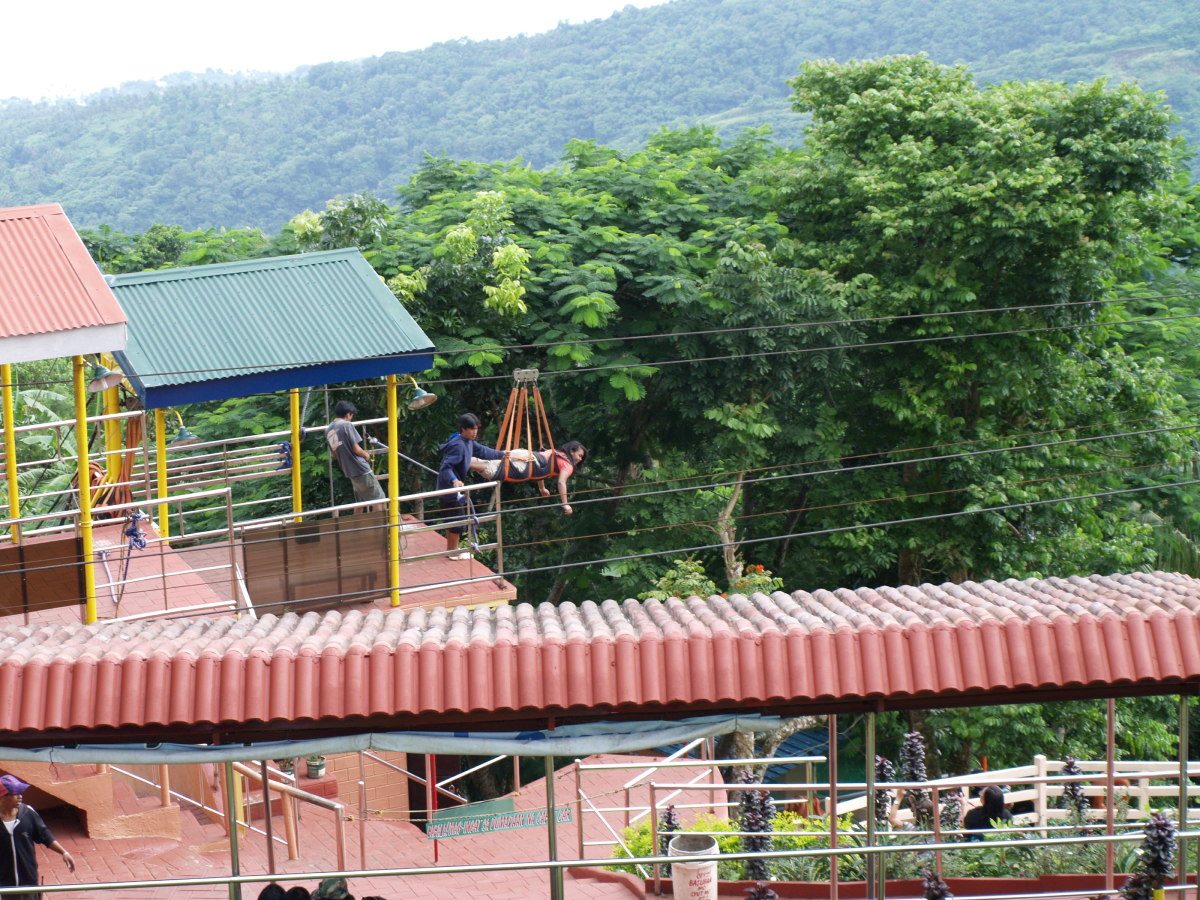 Zipline, from the view point.