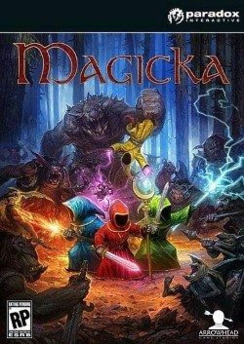 Magicka PC game