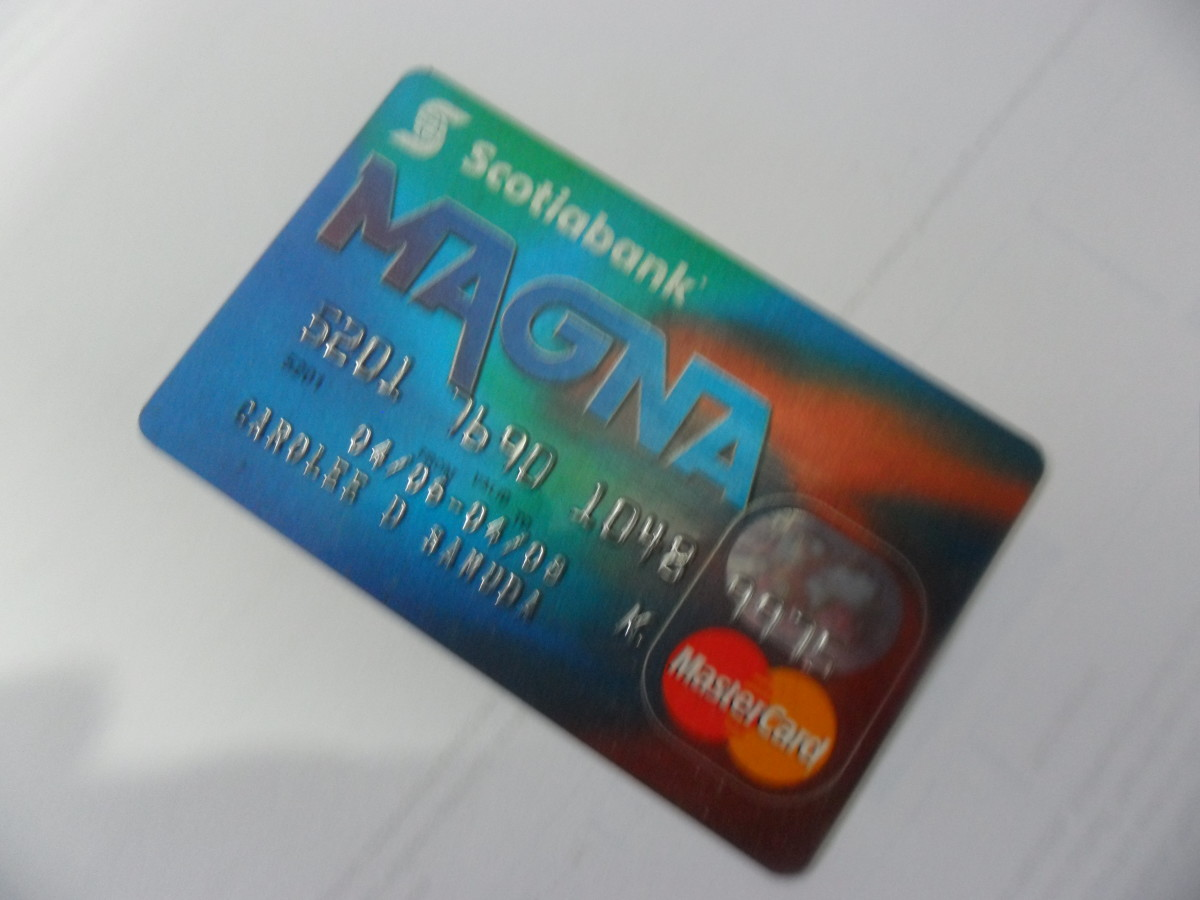 My expired credit card - expired since 2008