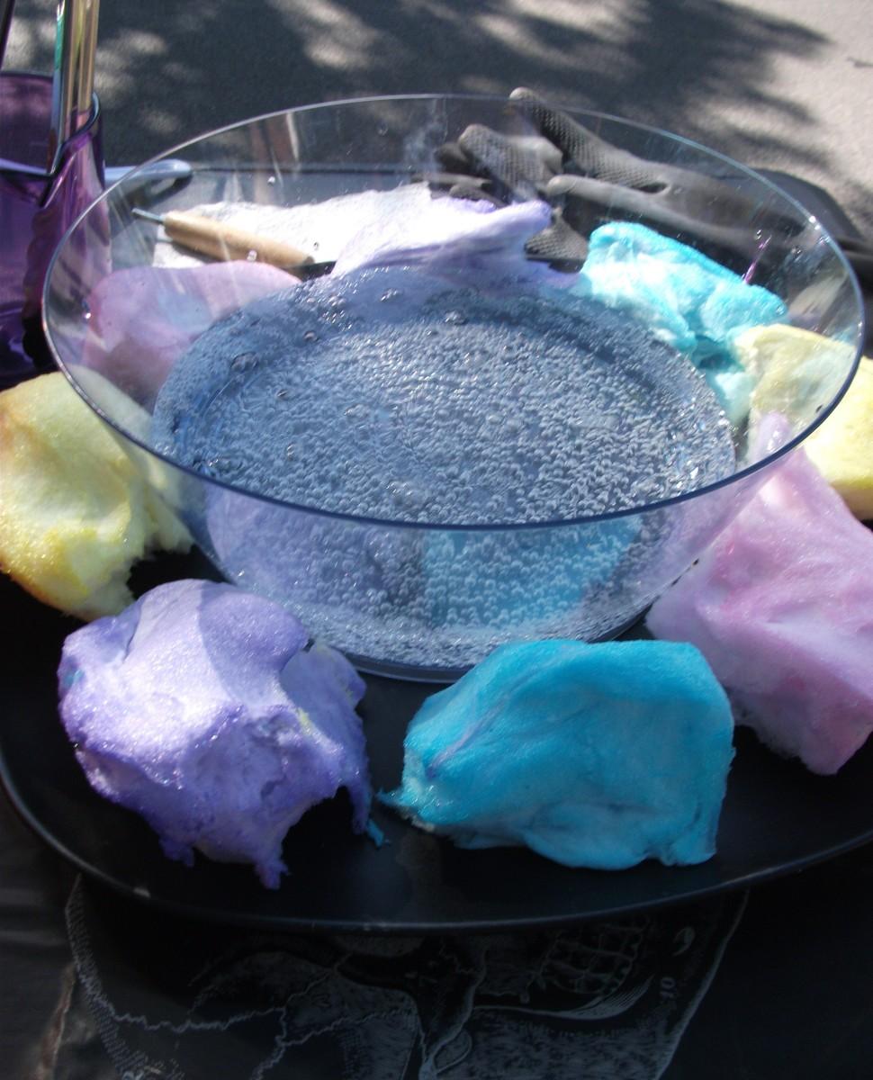 Cotton candy concoction